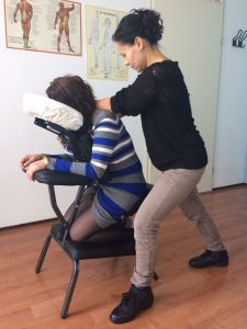 Stoelmassage bij Massagepraktijk Aylin