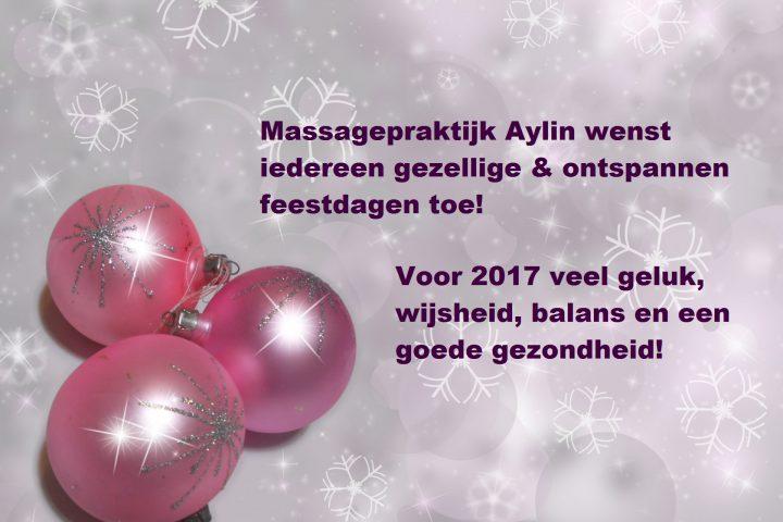 Fijne feestdagen en gelukkig nieuwjaar!