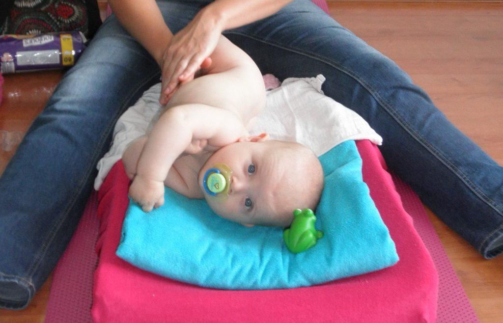 Babymassage bij Massagepraktijk Aylin